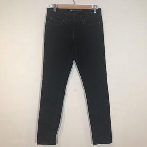 Levi's Demi curve low rise black skinny jeans
